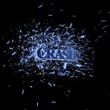 Crash. The word crash in an explosion - 3d illustration Royalty Free Stock Images