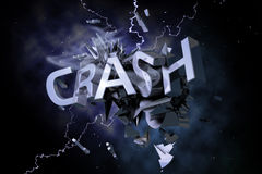 Crash Royalty Free Stock Photos