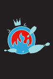 Crash bowl royalty free stock image