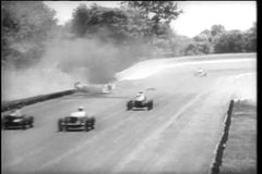 Crash and burn during Indy 500, Indianapolis Motor Speedway