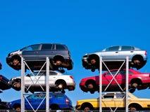 Crash car Stock Image