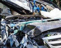 Crash car Stock Photography