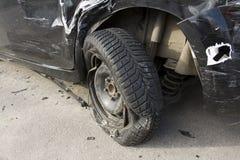 Crash car damage Stock Photography