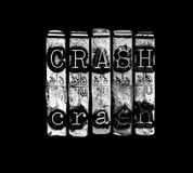 Crash concept Royalty Free Stock Photos