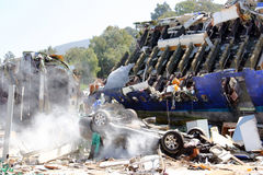 Crash d'Airplaneâs Images stock