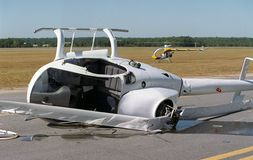 Crash d'hélicoptère 2 Images stock