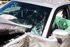 Crash de véhicule Image libre de droits