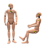 Crash Test Dummies Royalty Free Stock Images
