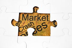 Crash market Stock Photos