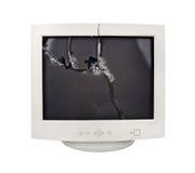 Crash monitor Royalty Free Stock Images