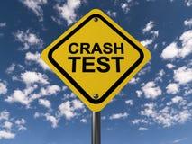 Crash test Royalty Free Stock Image