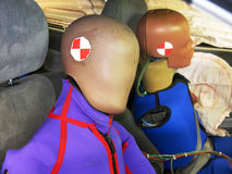 Crash test dummies Stock Images