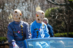 Crash test dummies on display Royalty Free Stock Images