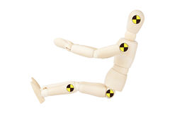 Crash test dummy Royalty Free Stock Image