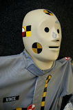 Crash Test Dummy. Closeup of crash test dummy stock photo