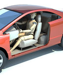 Crash test dummy Royalty Free Stock Photo