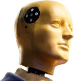 Crash Test Dummy. To car accidents to test Stock Photography