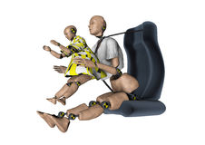 Crash test dummy  Stock Photos