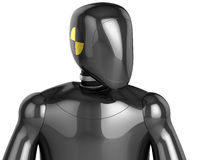 Crash Test Dummy concept (Hi-Res) Royalty Free Stock Images