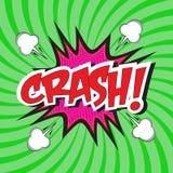 Crash! wording Stock Photos
