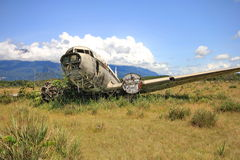 Crashed aircraft Stock Photos
