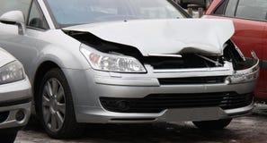 Crashed Car. Royalty Free Stock Photos