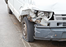 Crashed Car Stock Photography