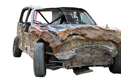 Crashed car Royalty Free Stock Photography