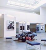 Modern art exhibition interior. Stock Images