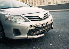 car accidents royalty free stock photos