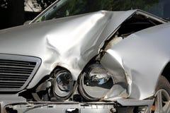 Crashed Car Royalty Free Stock Photos