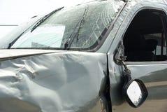 Crashed car detail Stock Photos