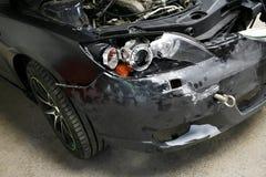 Crashed car Stock Photography