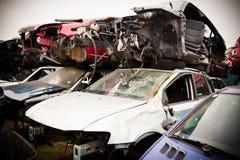 Crashed Cars Stock Photos