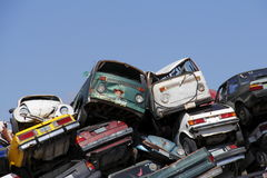Crashed cars II Stock Images