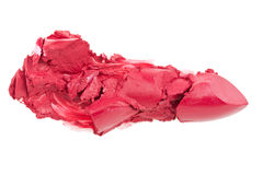 Crashed lipstick Royalty Free Stock Photo