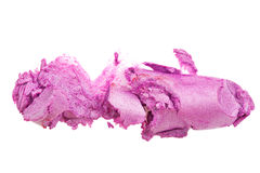 Crashed lipstick Stock Photography