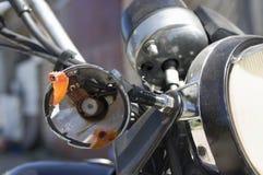 Crashed Motorcycle Stock Photos