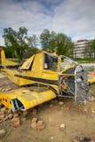 Crashed plane Royalty Free Stock Photo