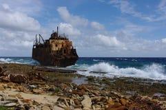 Crashed ship Stock Images
