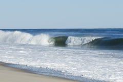 Crashing Surf Wave Stock Photography