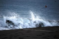 Crashing Wave Stock Image