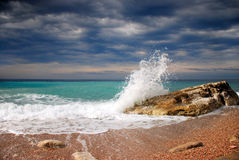 Crashing wave Stock Photography