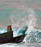 The crashing wave Royalty Free Stock Photography