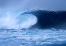 Crashing wave at El Quemao Lanzarote stock photo