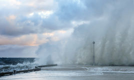 Crashing Wave - Nova Scota Stock Image