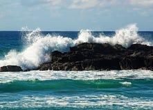Crashing wave Royalty Free Stock Photo