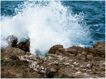 Crashing wave Royalty Free Stock Image