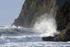 Crashing waves Royalty Free Stock Image