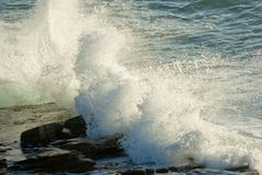 Crashing waves Royalty Free Stock Images